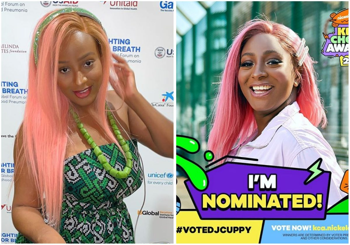 DJ Cuppy excited as she gets nominated for the Nickodeon Kids Choice Awards