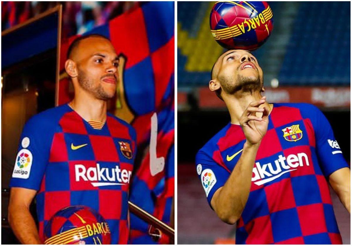 Barcelona unveils emergency signing, Martin Braithwaite (Photos)