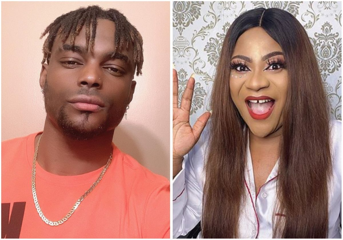 Actress Nkechi Blessing reacts to alleged breakup with boyfriend, Mike