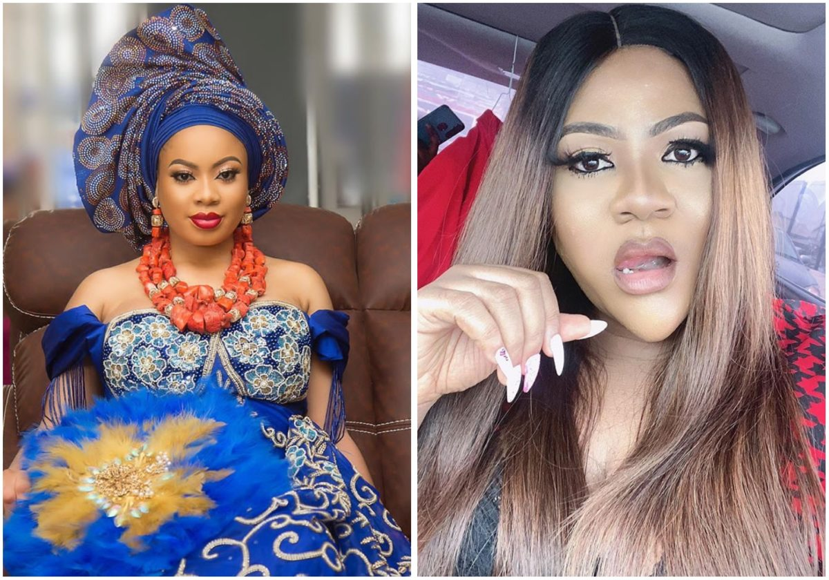 Drama as BBNaija's Nina uses actress Nkechi Blessing failed relationship to advise fans