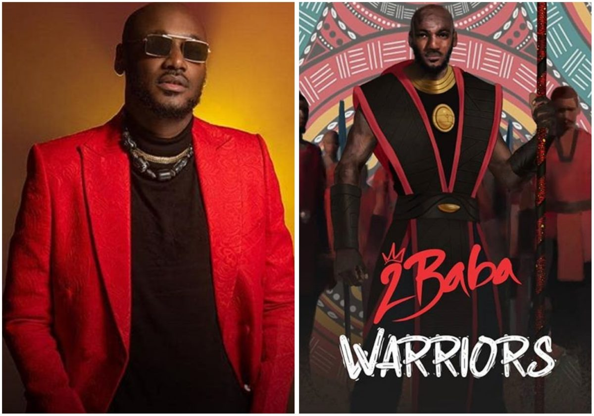 2face Idibia releases track list for new album Warriors