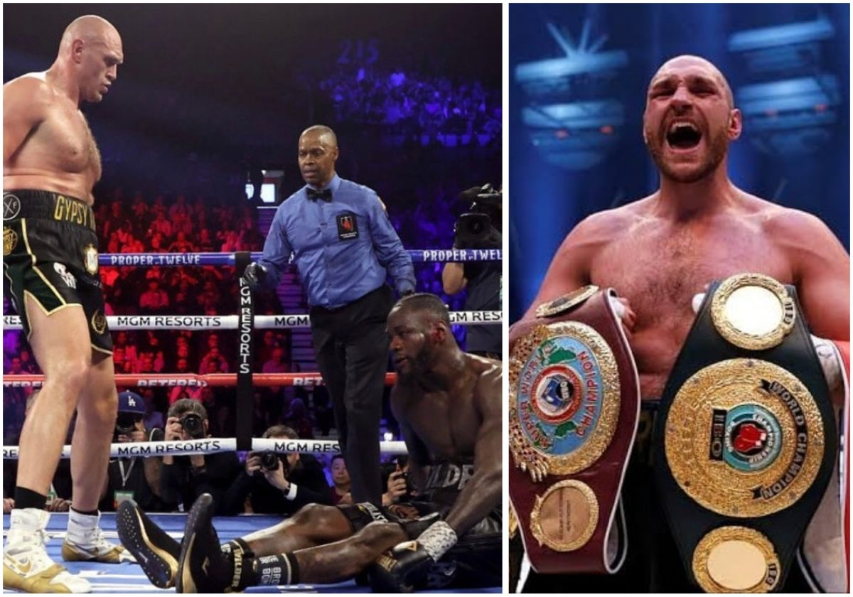Tyson Fury beats Deontay Wilder to win WBC heavyweight championship
