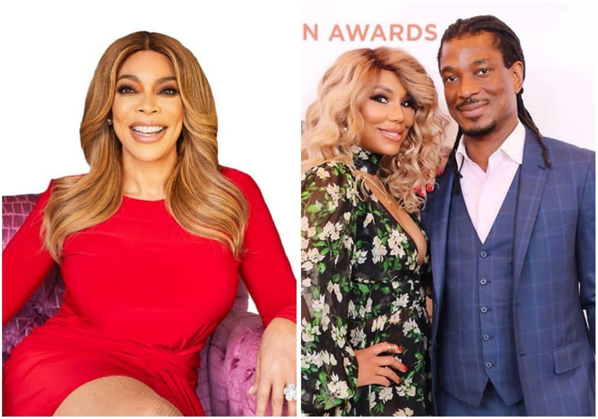 Wendy Williams confirms Tamar Braxton and David Adefeso are still together (Video)
