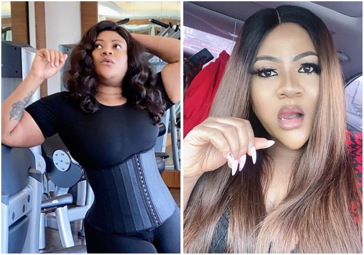 Actress Nkechi Blessing's curves on show in new sexy photo