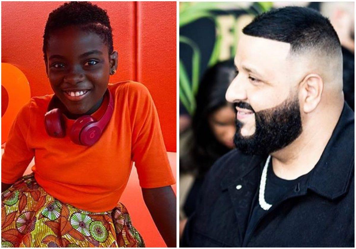 DJ Khaled honor Ghana's youngest disk jockey, DJ Switch Ghana (Photo)