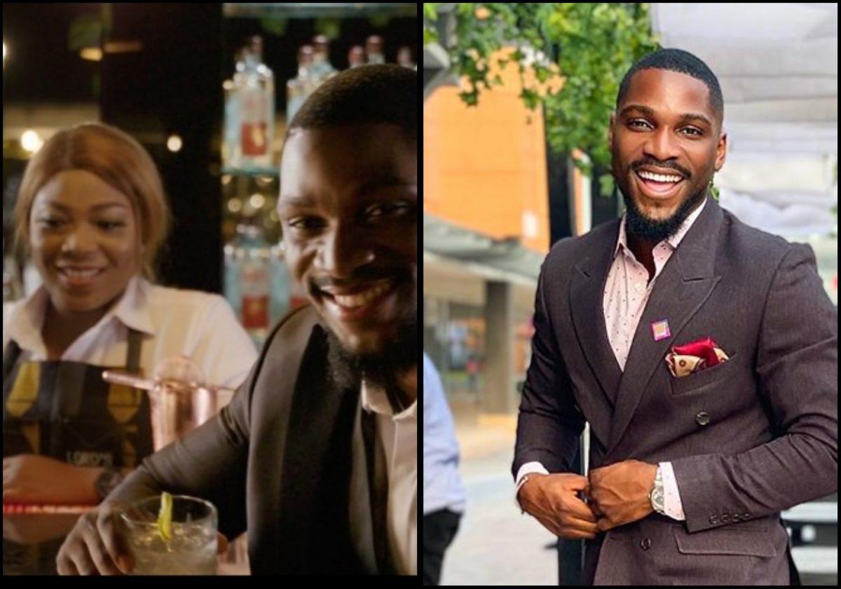 #BBNAIJA: Tobi Bakre joins Lord's Gin as it's new brand ambassador (Video)