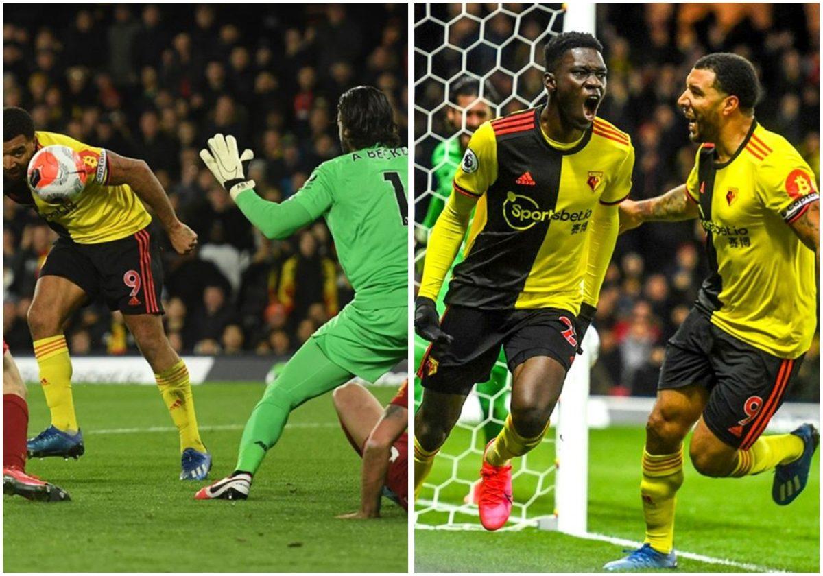 Liverpool's unbeaten run ends in tears as Watford thrash them 3-0 (Video)