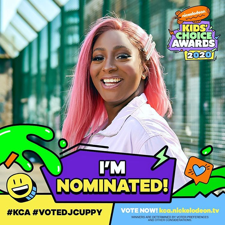DJ Cuppy excited as she gets nominated for the Nickelodeon Kids Choice Awards