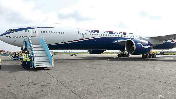 Air peace pilot refuses to open