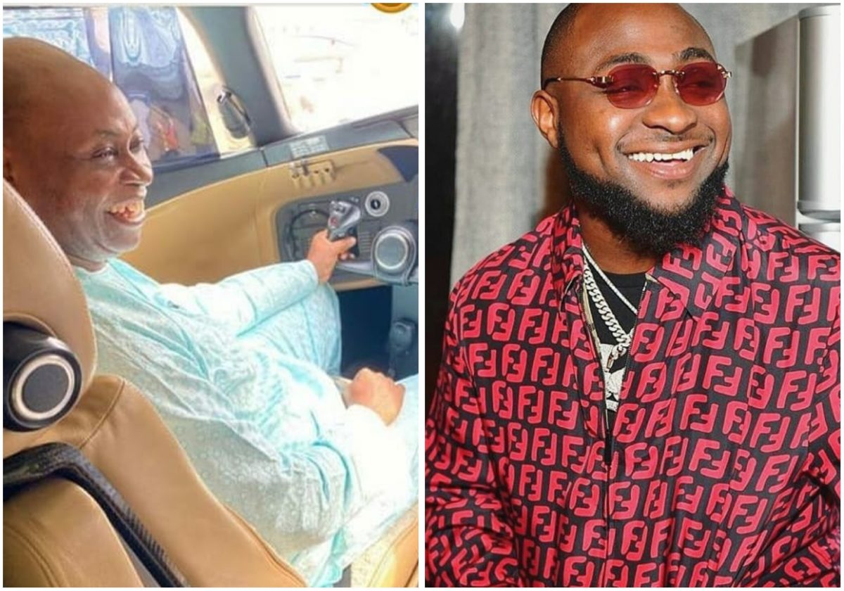 Davido's father, Adedeji Adeleke buys a new private jet, worth over $62m (Video)