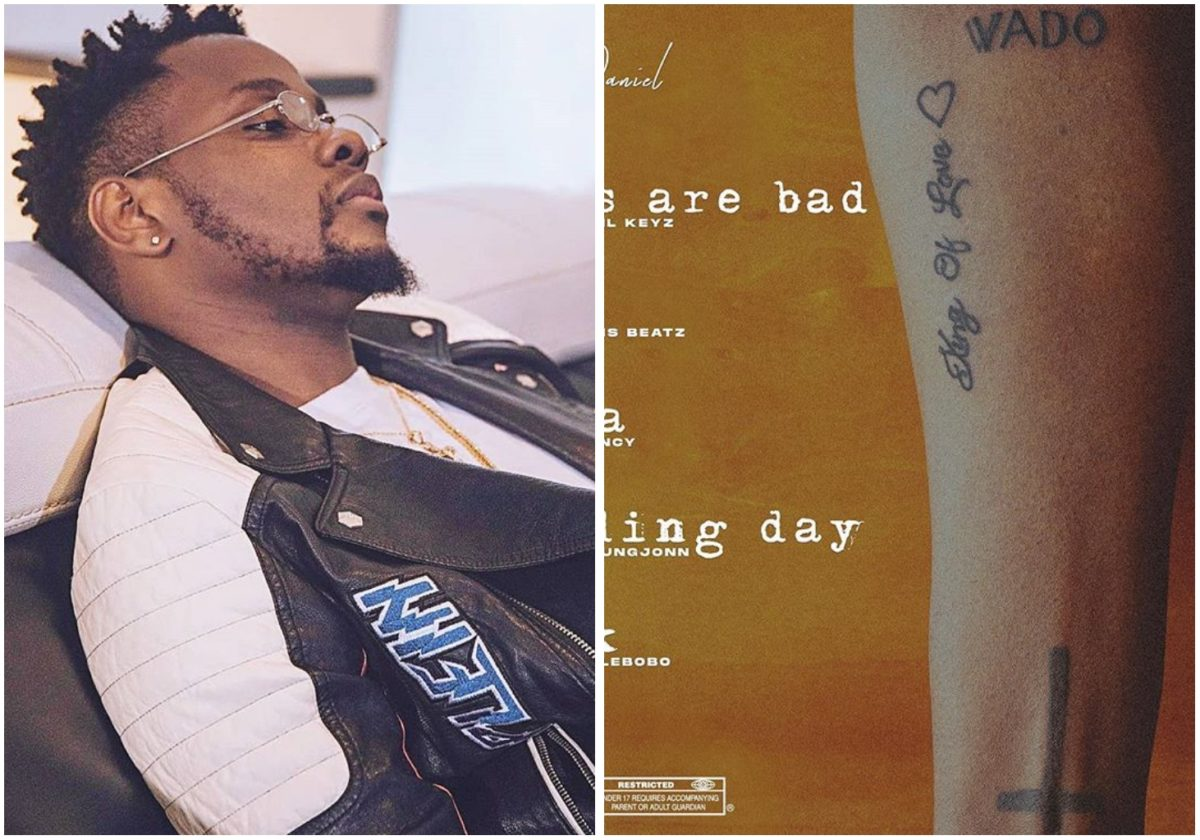 Kizz Daniel release tracklist for new EP, King of Love (Photo)