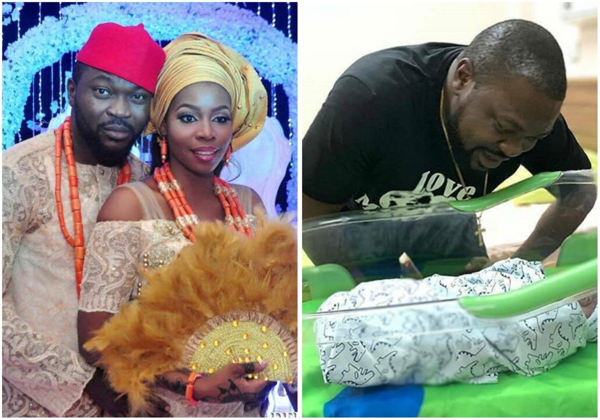 Comedian Buchi welcomes second child with wife Rukky Isede Ojieh (Photo)