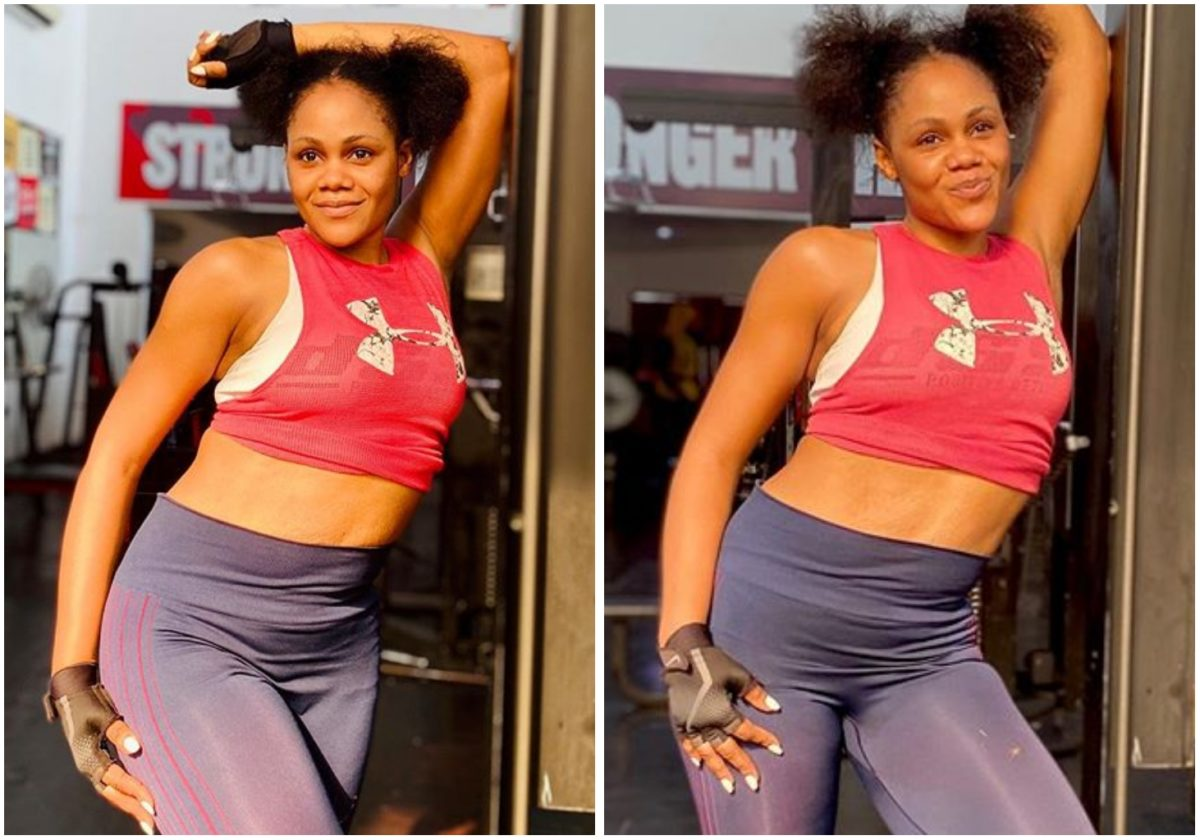 Busola Dakolo shows off great physique, as she celebrates women (Photos)