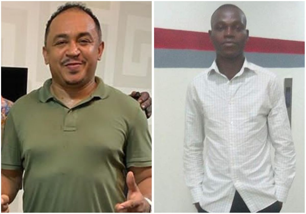 Daddy Freeze arrests Instagram follower who made a lewd comment about his son