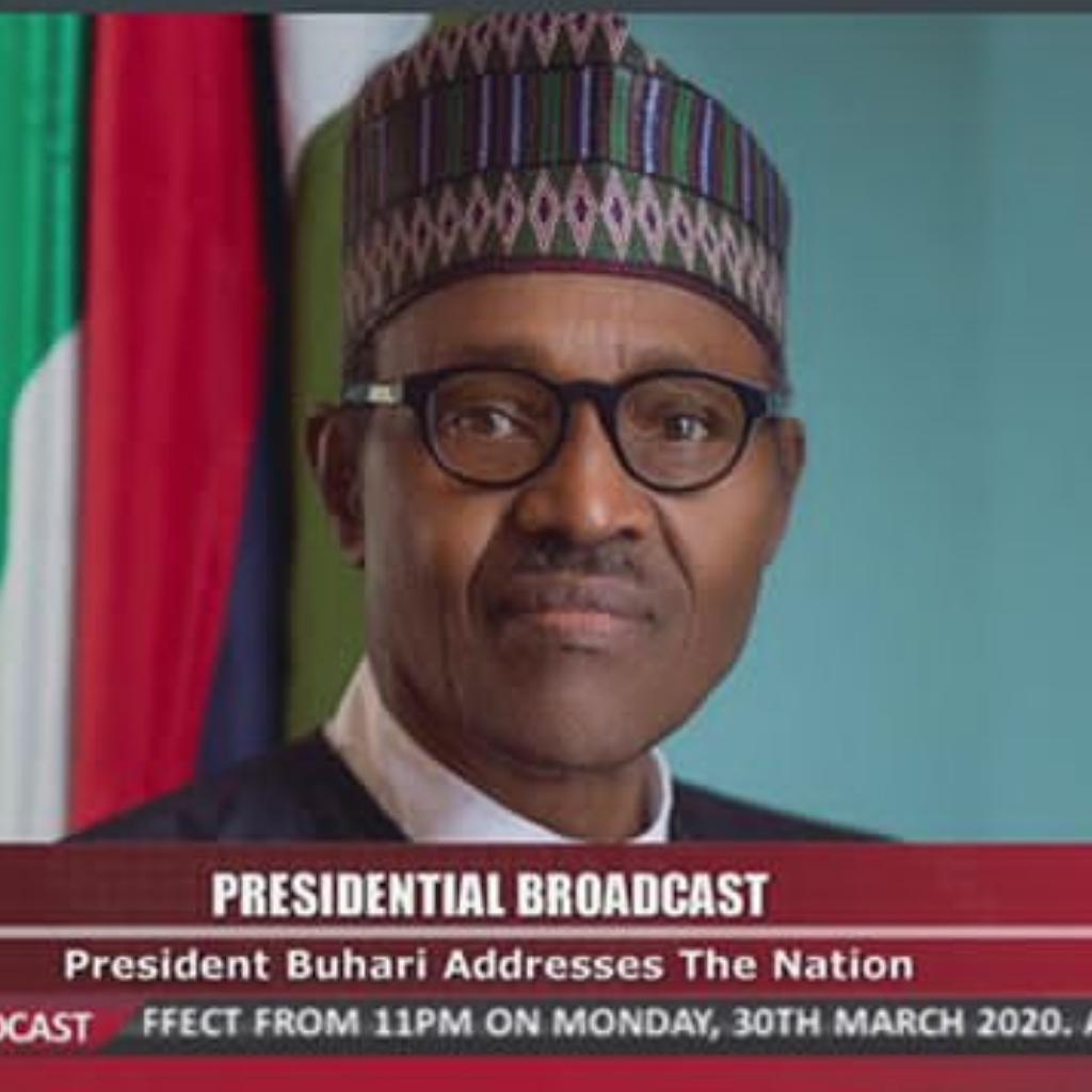 President Buhari locks down Lagos, Abuja, Ogun for two weeks