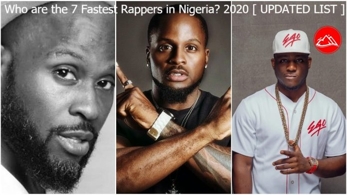 Who are the 7 Fastest Rappers in Nigeria? 2020 (Forbes)