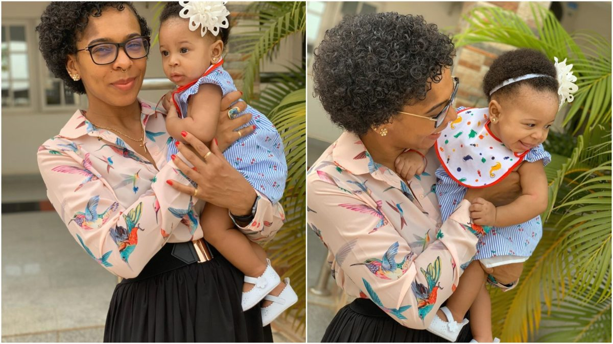 TBoss Celebrates her 1 year Old Daughter Birthday