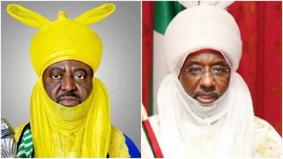 Emir of Kano Sanusi Lamido showed