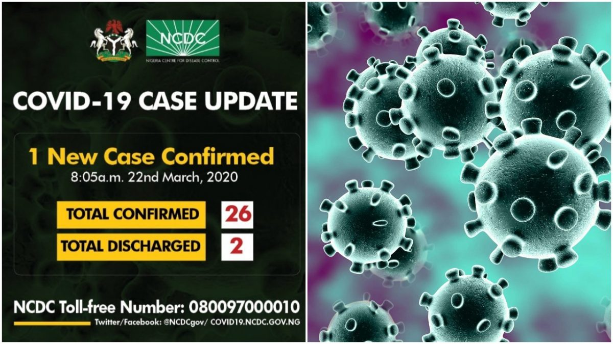 Three new people tested positive in Nigeria