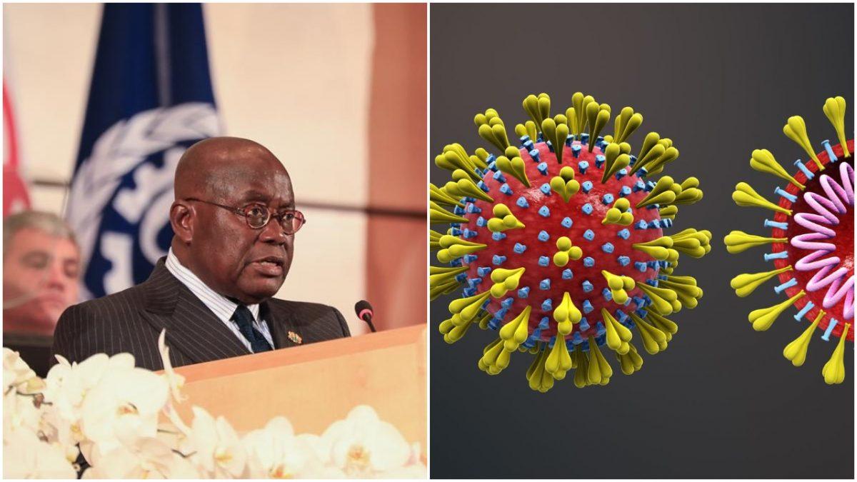 Ghana president Coronavirus