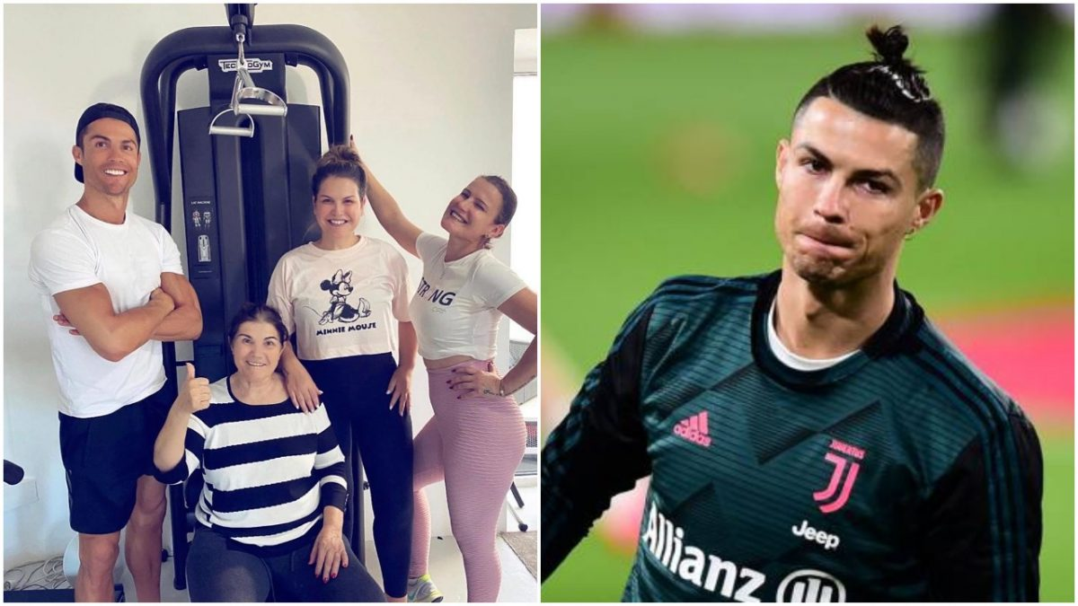 Feeling very thankful to have my mum home from hospital - Ronaldo