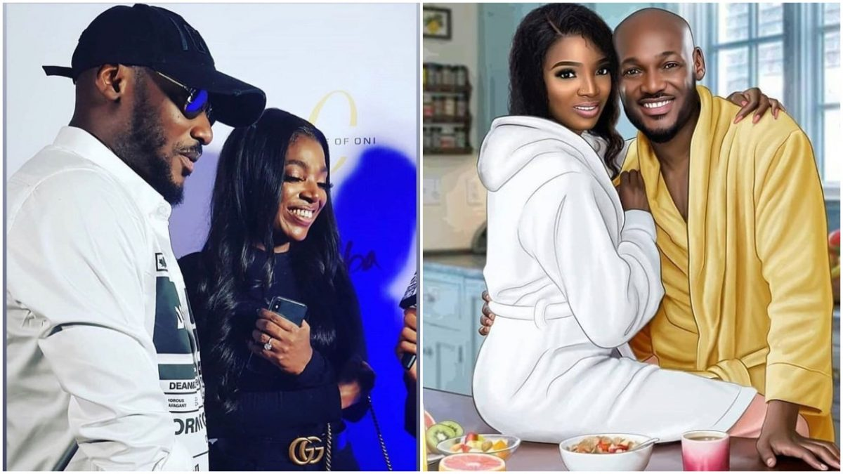 2face and wife celebrate marriage anniversary