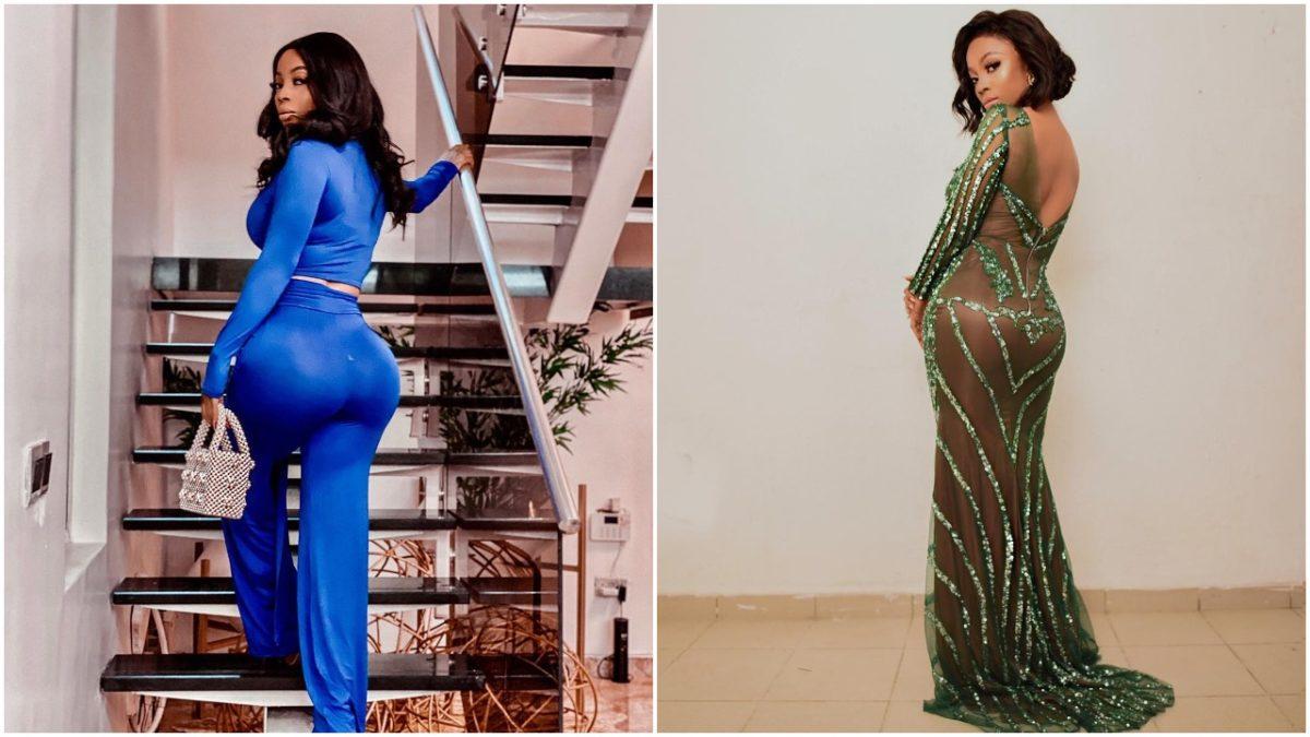Toke Makinwa shows off her butt on Instagram