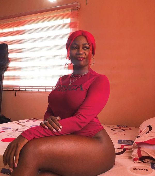 Nigerian video vixen Picture Kodak is dead