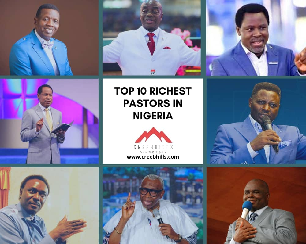 Top 10 Richest pastors in Nigeria 2020 [ Forbes List]