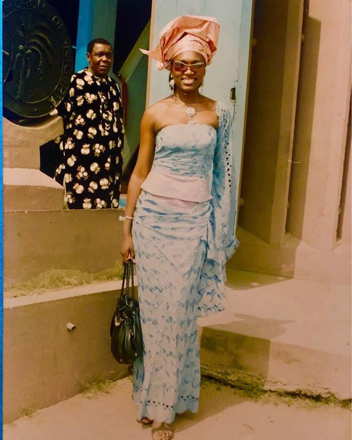 Nigerian actress Ufuoma shares her throwback pictures (photos)