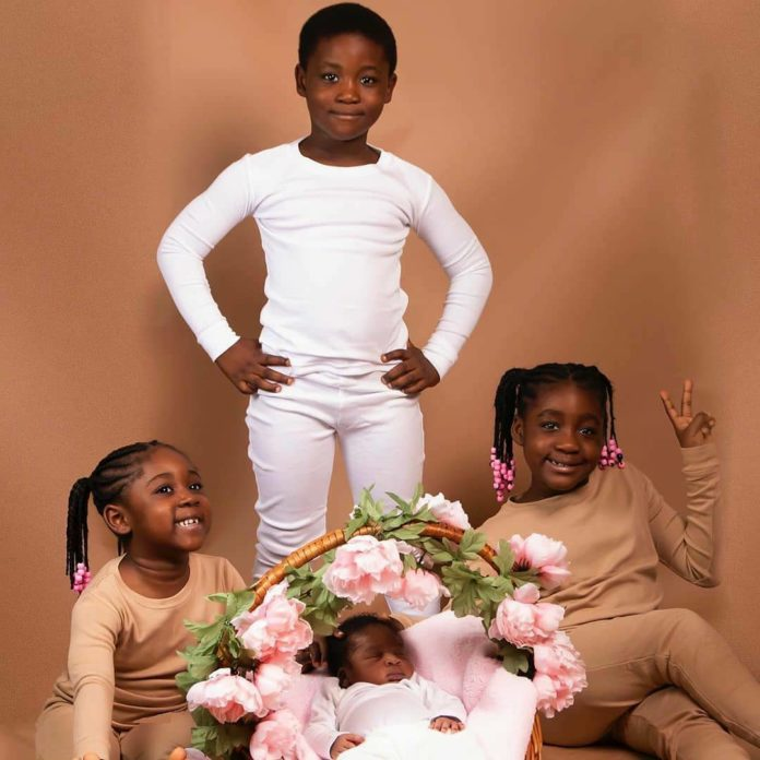 Family Squads: Mercy Johnson shows her cute children in new photographs (photos)