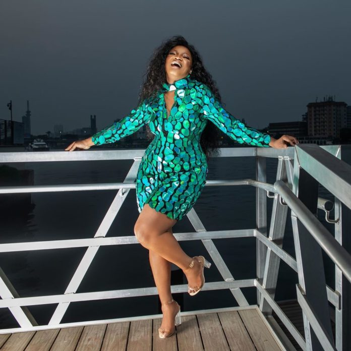 Omotola Jalade celebrates 25 years in entertainment industry today