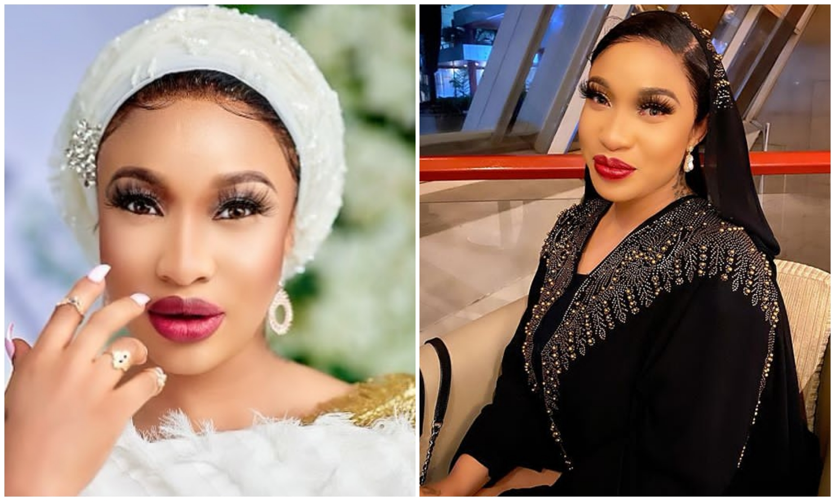 Tonto Dikeh remembers her late mother, 33 years after her death (Photo)