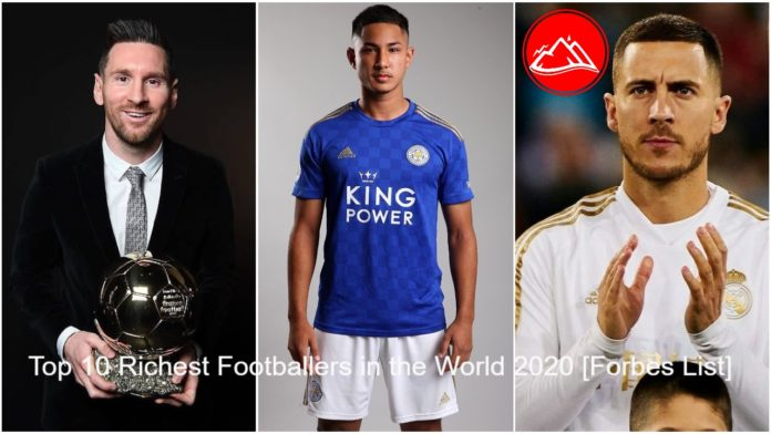 Top 10 Richest Footballers in the World 2020 [Forbes List]