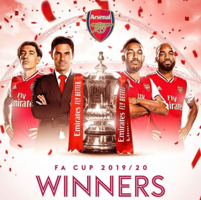 Arsenal wins 14th FA Cup Title as they tame a roaring Chelsea