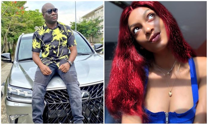 Mompha pays influencer Adeherself a visit amidst EFCC case drama (Video)