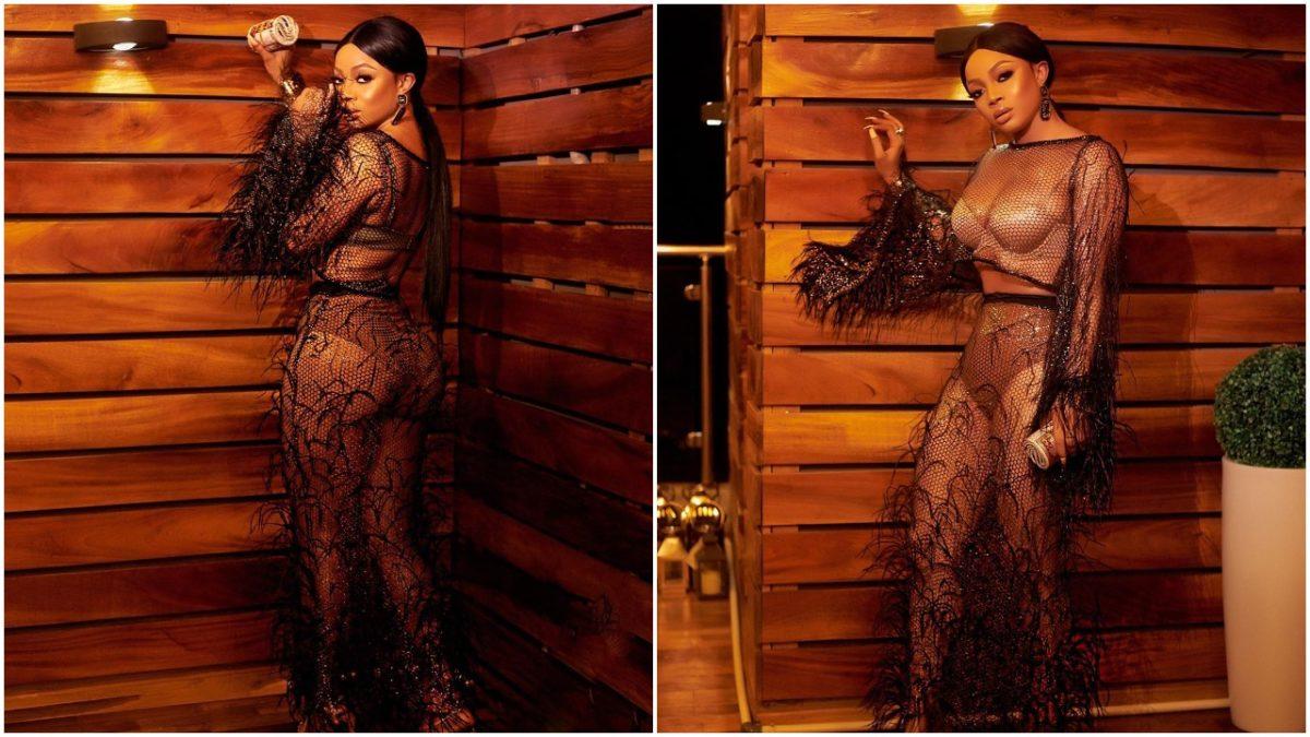 Nigerian Britney Spears, Toke Makinwa says a little prayer to God