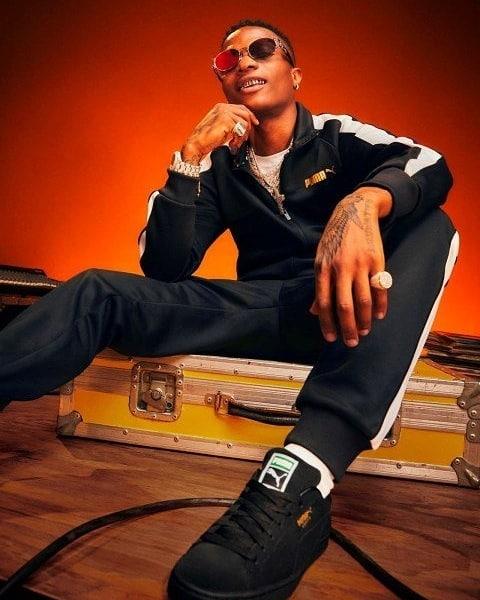 Wizkid announced as new face of Puma Sportswear (Photos)