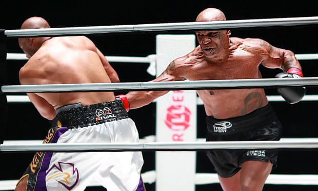 Mike Tyson comeback fight against Jones ends in a draw