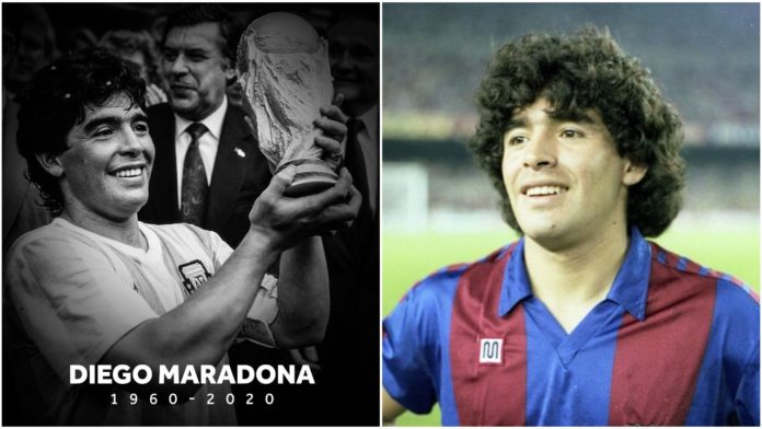 Argentine Legend, Diego Armando Maradona dies Aged 60