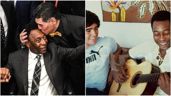 Brazilian Football Legend, Pele reacts to the Death of Maradona