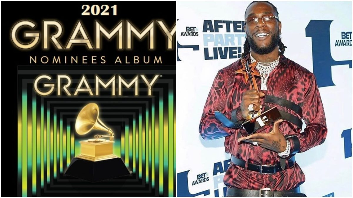 Burna Boy's Twice as Tall Album get nominated for 2021 #GRAMMYs