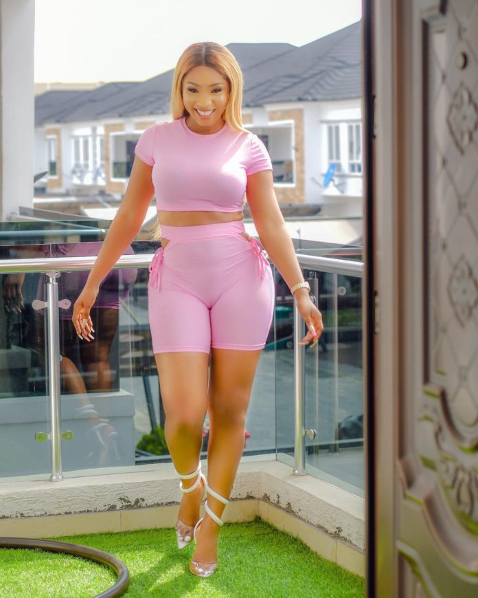 Watch Mercy Eke flaunt her curves while Twerking For Mr. H (Video)