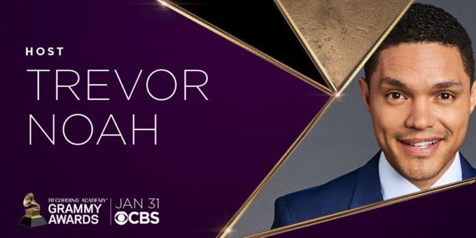 South African Comedian Trevor Noah Set To Host Grammy awards 2021