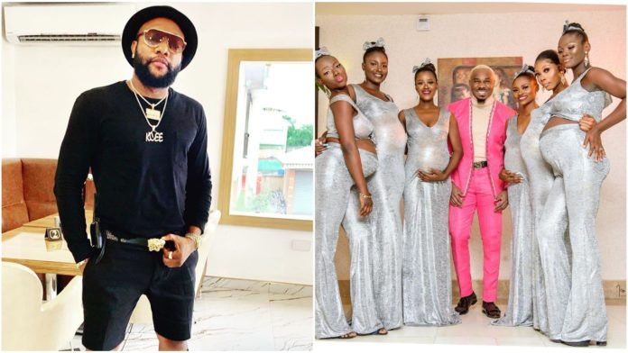 Kcee slams socialite Mike for storming Actor Uchemba's wedding with 6 pregnant women (Video)