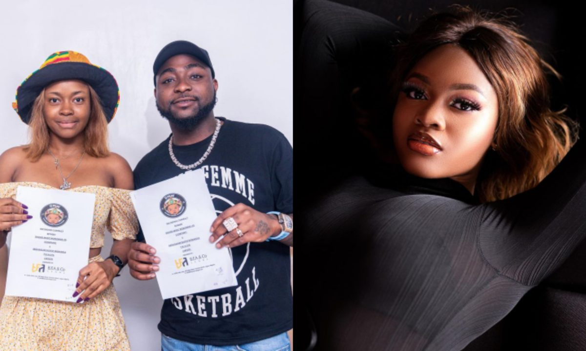 She's like a little sister I never had – Davido speaks of his female artiste, Liya (Audio)