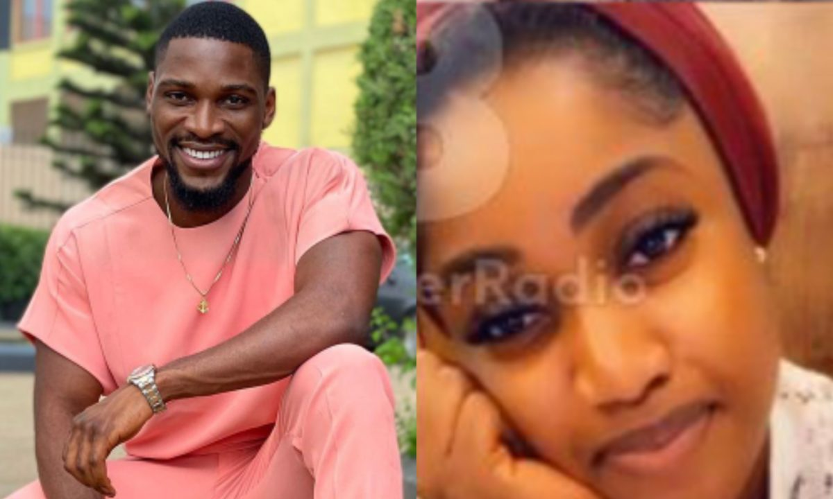 #BBNaija: Watch Tobi Bakre's girlfriend, Anu, pays his mom a surprise home visit (Video)