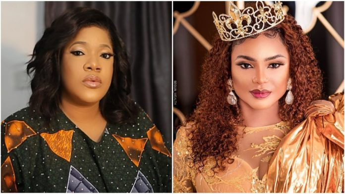 Toyin Abraham finally reveals why she ignored Iyabo Ojo on social media after mum's death