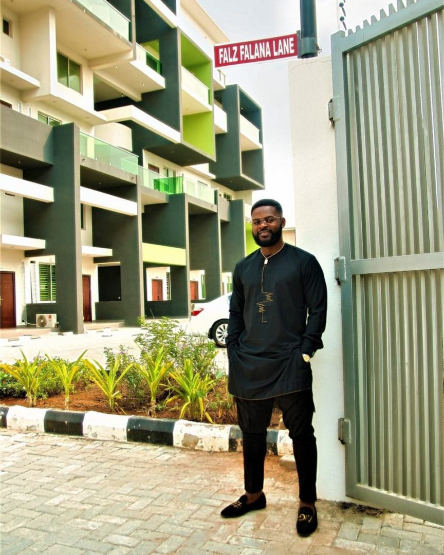 Wahala for who get street but no wife – Comedian AY shade Falz who unveiled his street