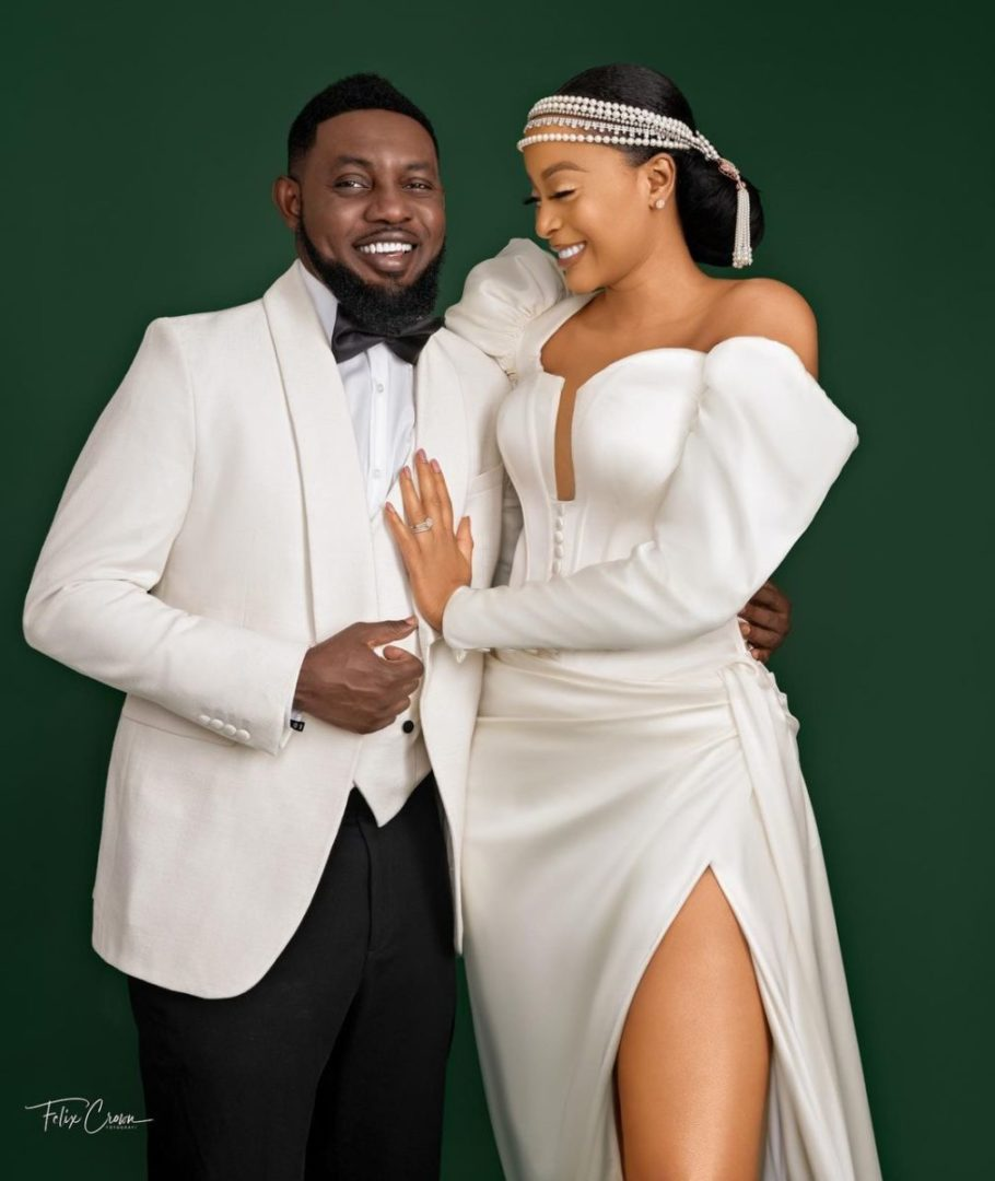 Comedian AY and wife, Mabel, celebrates 12th wedding anniversary in grand style (Photos)